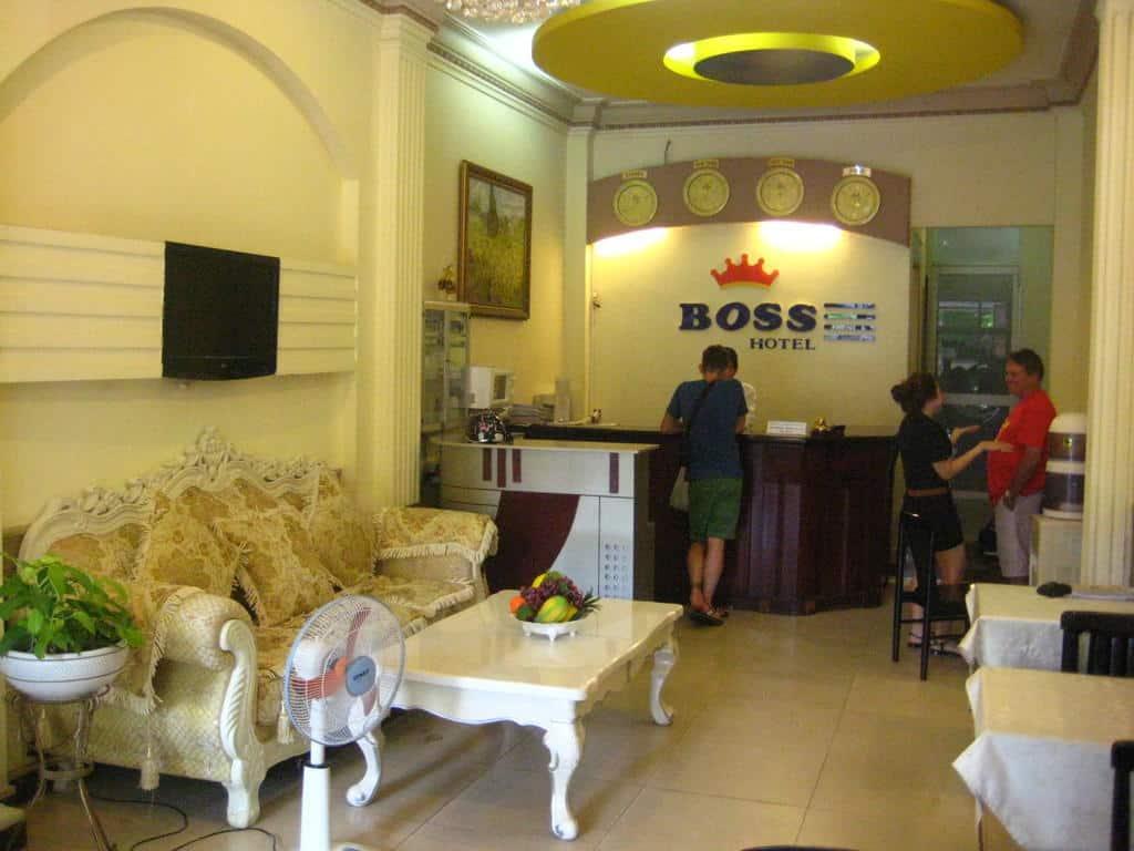 Boss Hotel 2 - Reception