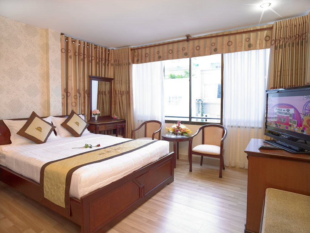 Ha My 3 Hotel - Bedroom