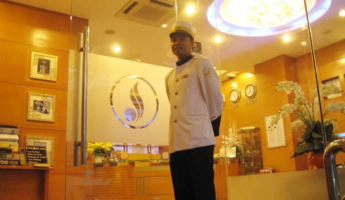 Ho Sen Hotel - Front - View