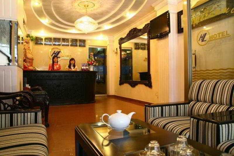 Hoang Lien Hotel - reception