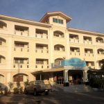 convenient resort hotel - frontview