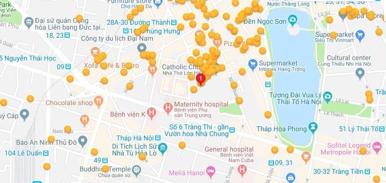 Hanoi Impressive Hotel - Location