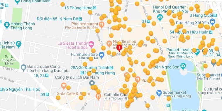 Hanoi Serene Hotel - Location