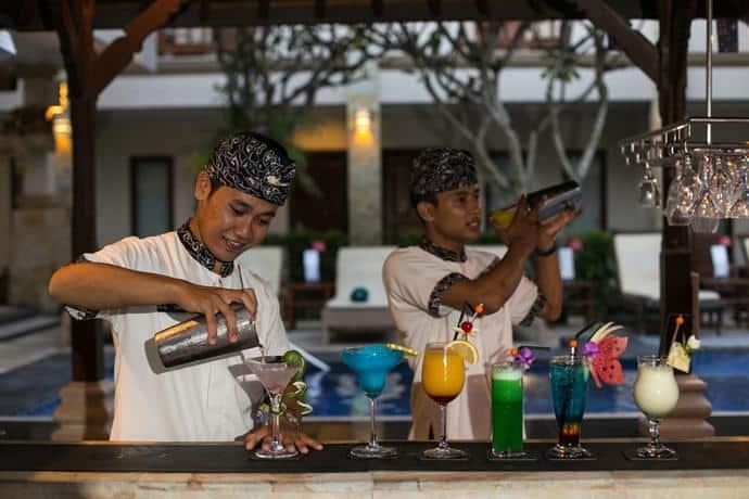 Bali Guest Friendly Hotels - Niche Bali Hotel - Bar