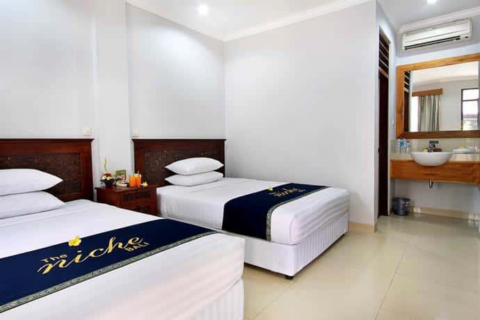 Bali Guest Friendly Hotels - Niche Bali Hotel - Bedroom