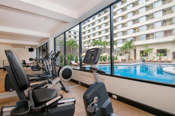 Guest Friendly Hotels In Pattaya - Bayview Hotel Pattaya -gym