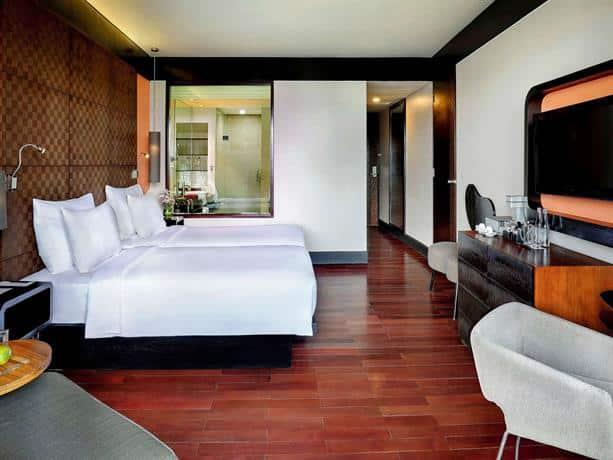 Bali Guest Friendly Hotels - Pullman Bali Legian Nirwana Hotel - Bedroom