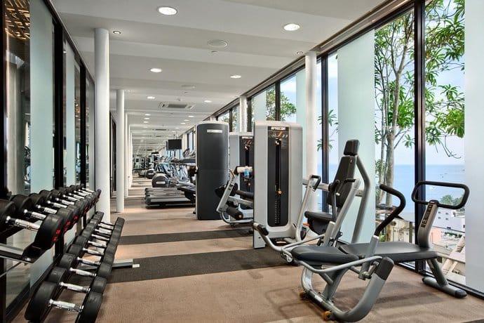 Guest Friendly Hotels In Pattaya - Hilton Hotel Pattaya  - Gym