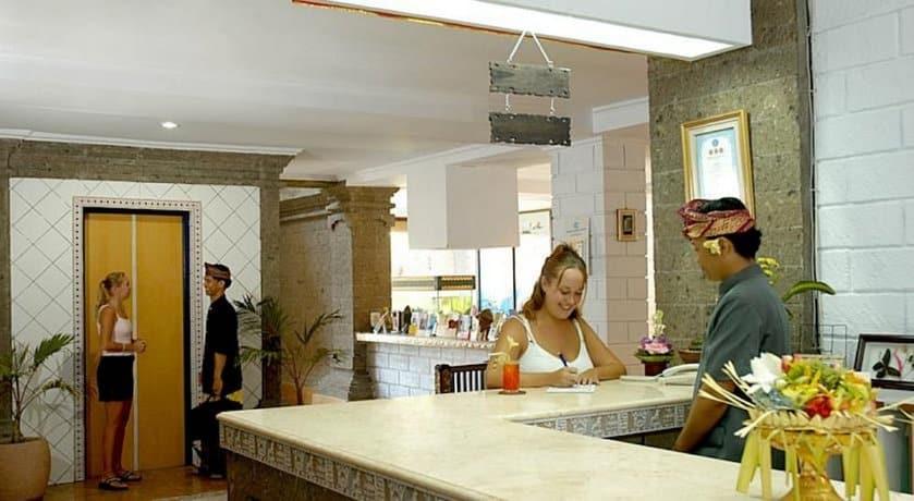 Bali Guest Friendly Hotels - Vilarisi Hotel - Reception