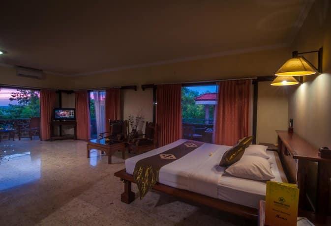Bali Guest Friendly Hotels - Melasti Beach Bungalows & Spa - Bedroom