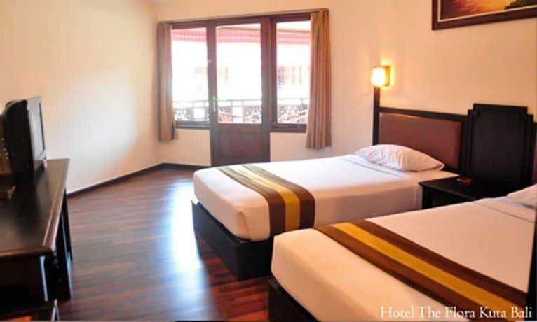 Bali Guest Friendly Hotels - Flora Kuta Bali - Bedroom