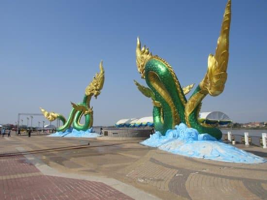 Nong Khai Thailand - Top Lan Phaya Nak