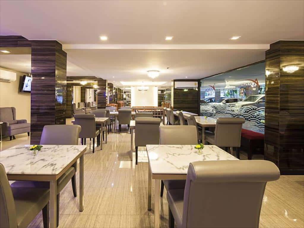 Aspen Suites Hotel Sukhumvit 2 Bangkok by Compass Hospitality-Restaurant