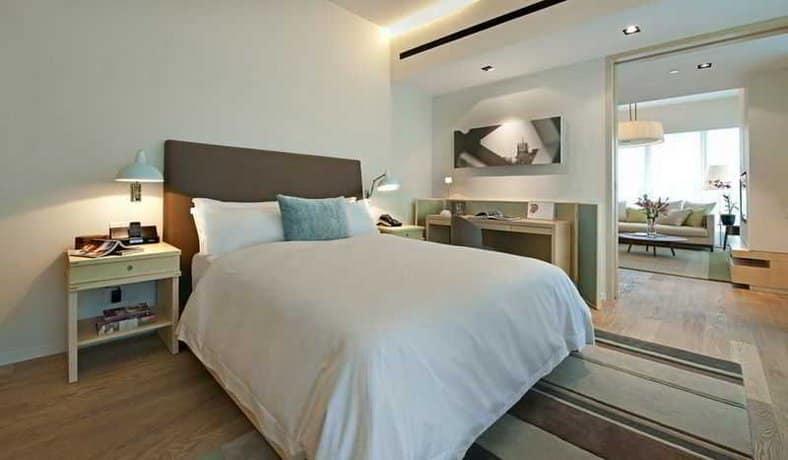 Lanson Place Bukit Ceylon Serviced Residences - Bedroom
