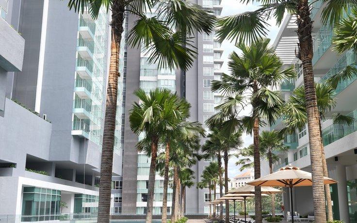 Lanson Place Bukit Ceylon Serviced Residences - Exterior View