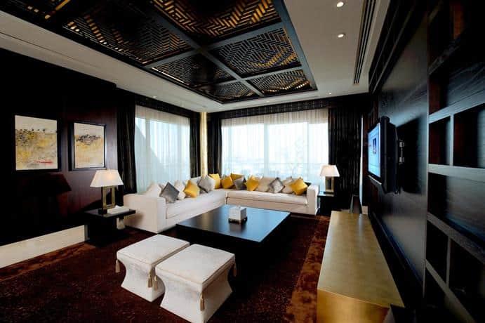 Raffles Dubai - Sitting Area