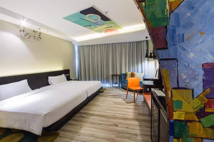 Siam @ Siam Design Hotel - Delux Bedroom