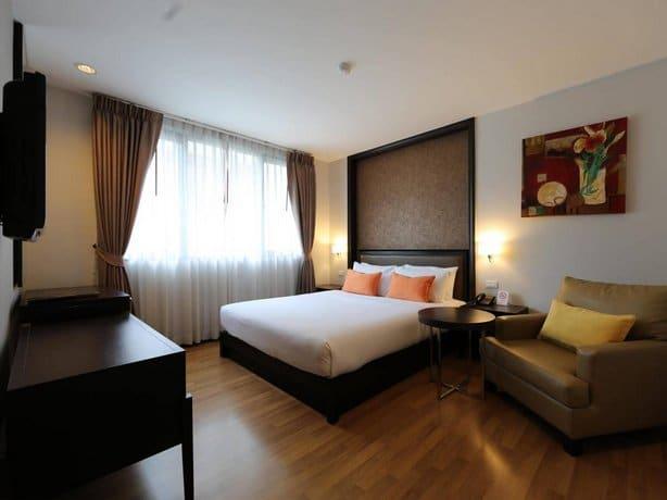 The Dawin Bangkok Hotel - Bedroom