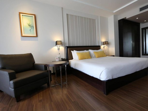 The Dawin Bangkok Hotel - Delux Bedroom