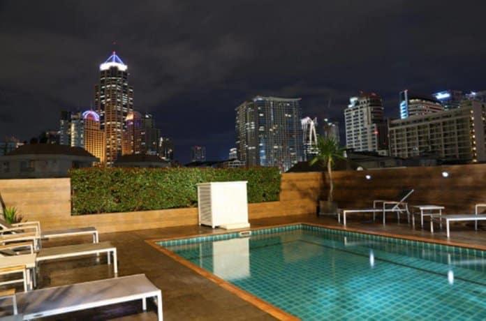The Dawin Bangkok Hotel - Terrace